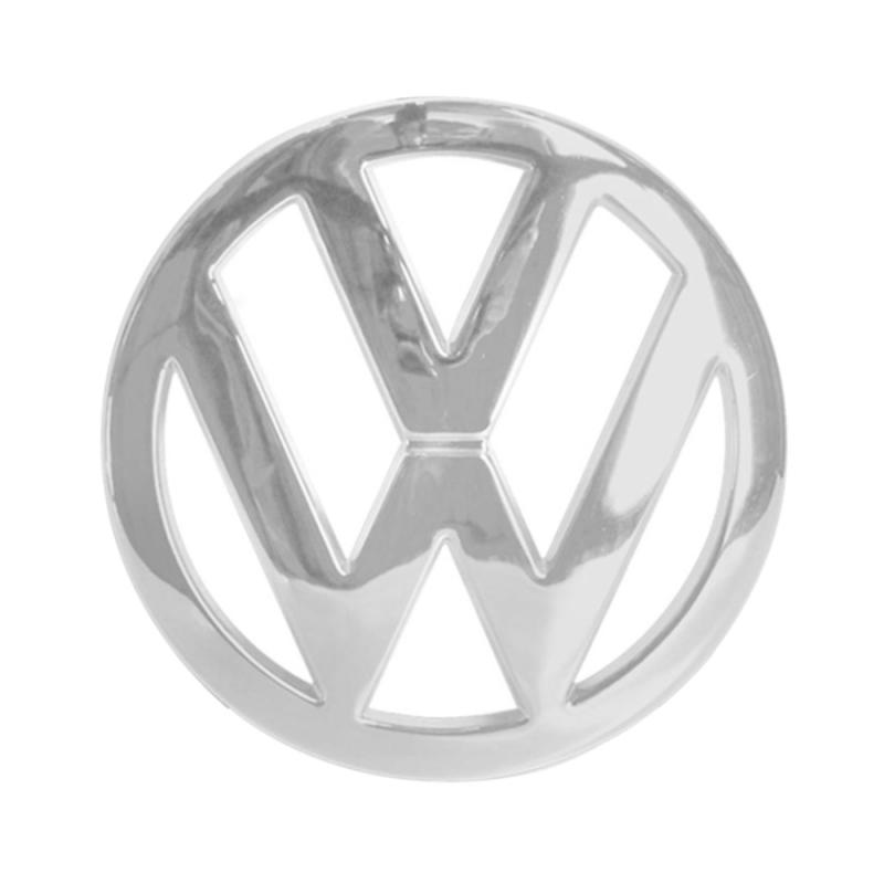 EMBLEMA VW DA GRADE DO RADIADOR GOL SAVEIRO VOYAGE GVI GVII G6 G7  2013 A 2017 CROMADO