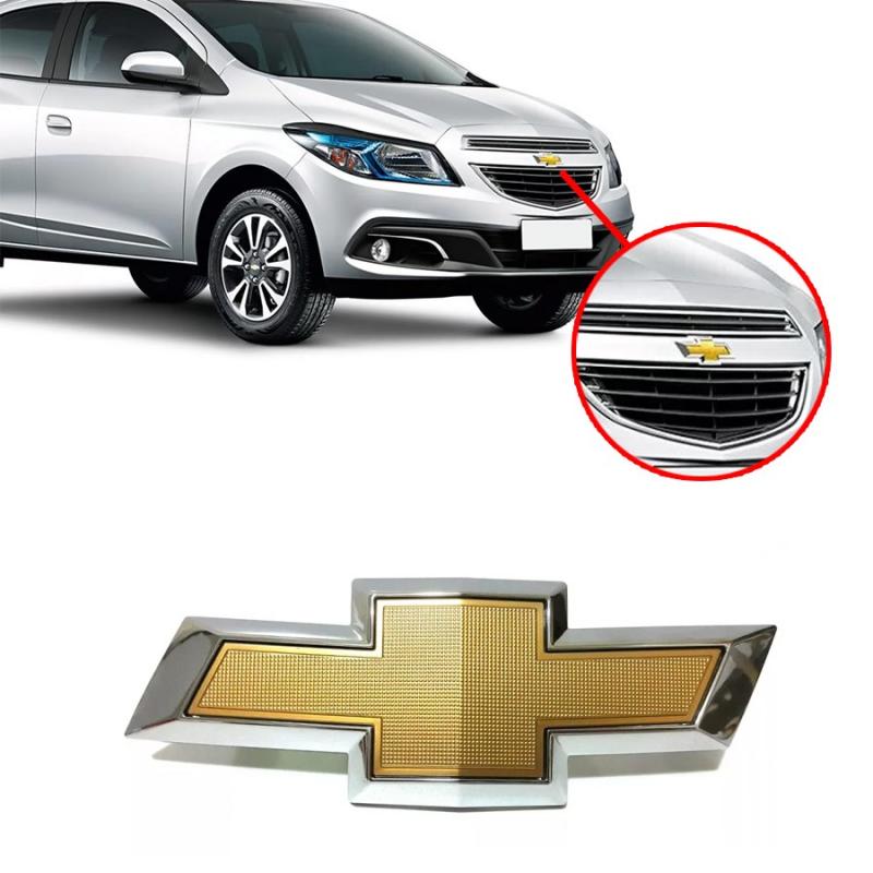 EMBLEMA GM GRADE ONIX PRISMA 2012 2013 2014 2015 2016 JOY
